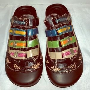 Elite by Corkys Heidi shoe black clog size 8